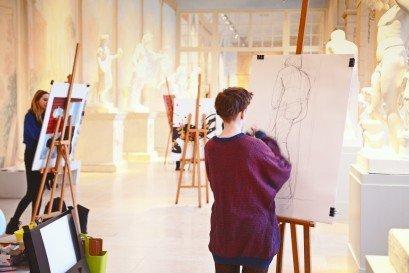 Klasa rysunkowa - warsztaty artystyczne dla młodzieży