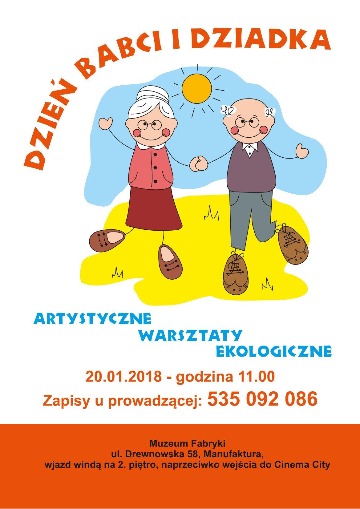 Warsztaty ekologiczne z okazji Dnia Babci i Dziadka w Muzeum Fabryki