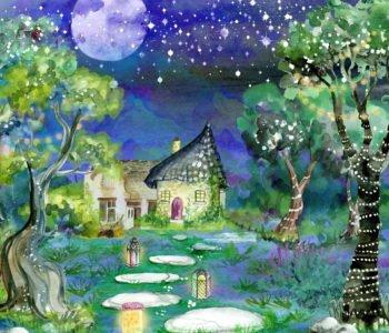 Dom na drzewie, bajka terapeutyczna do czytania dzieciom na dobranoc