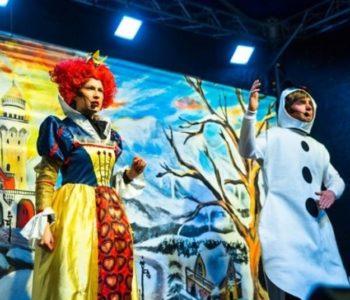 Spektakl Teatru Katarynka: Bałwanek Tiko i Królowa Fruncja