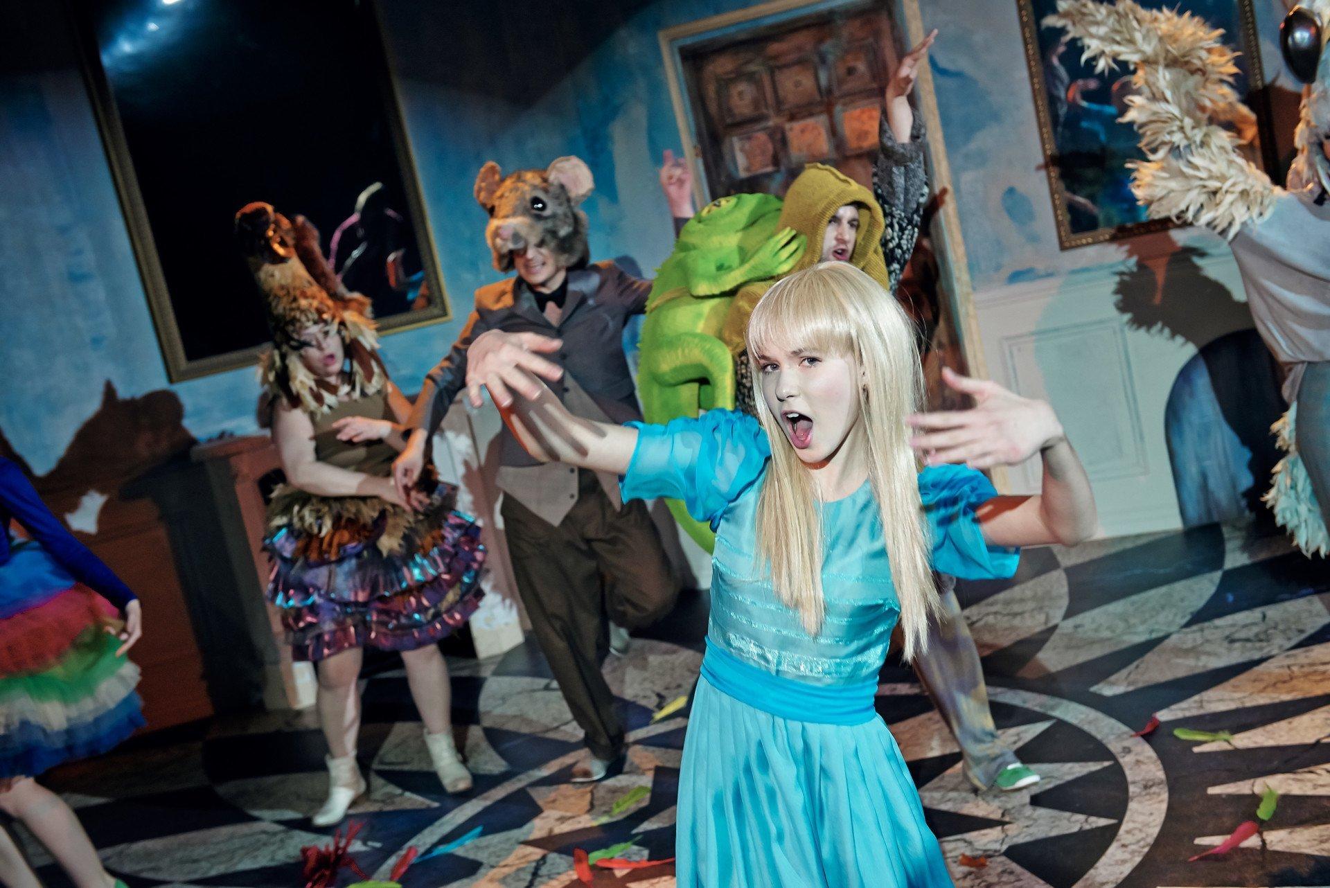 Alicja w Krainie Czarów w Teatrze Roma