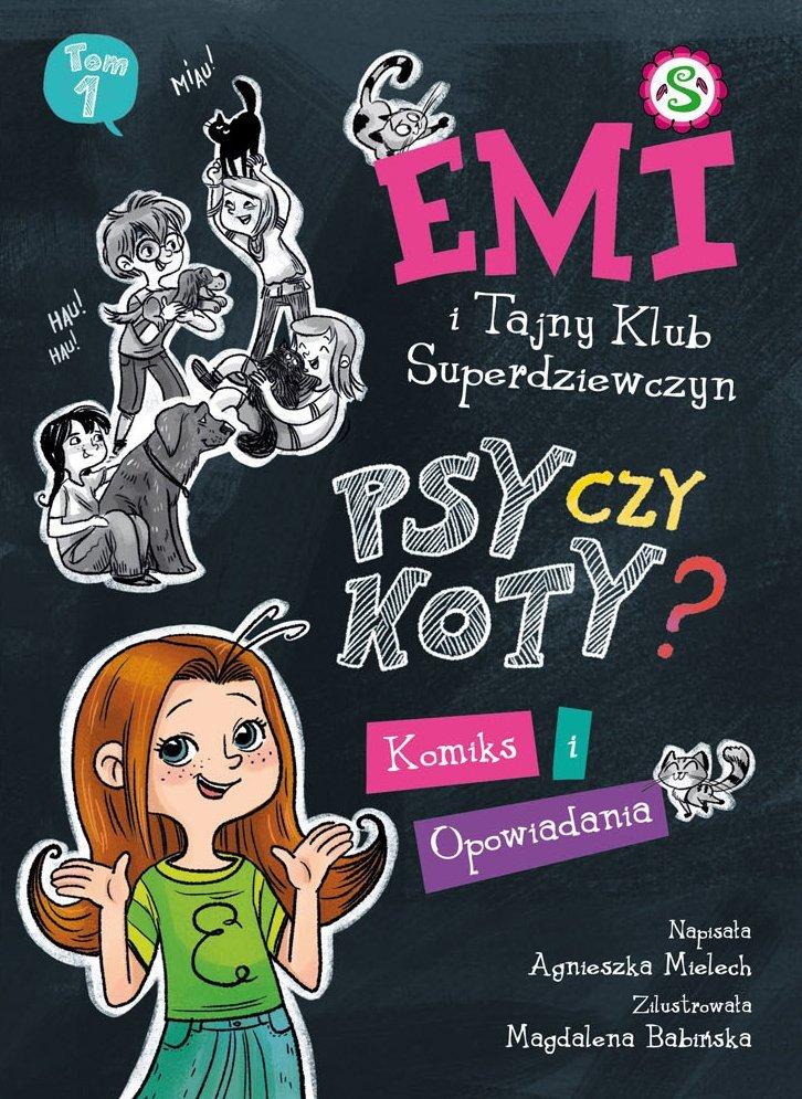 Emi i Tajny Klub Superdziewczyn recenzja książki