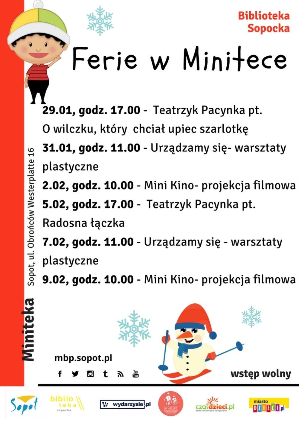 Ferie 2018 w Minitece
