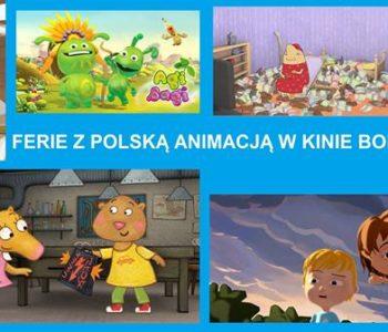 Ferie z Polską Animacją w Kinie BODO!