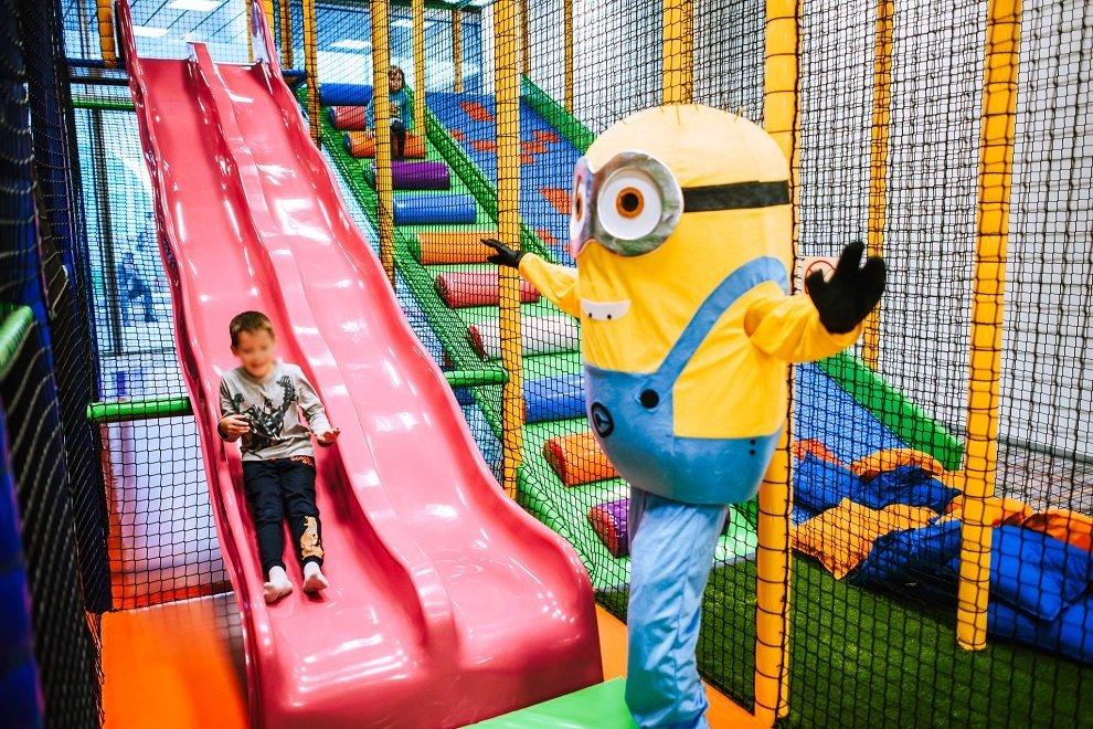 SAla zabaw Fikołki Wrocłąw 2018 atrakcje dla dzieci