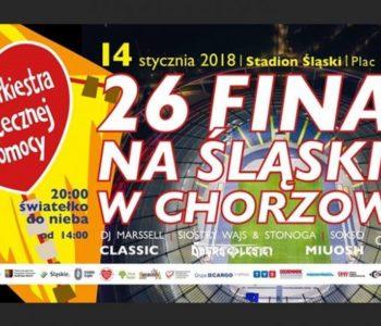 Finał WOŚP na Stadionie Śląskim w Chorzowie