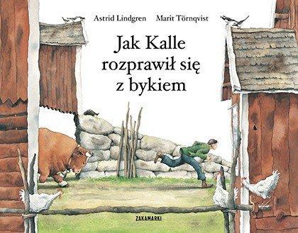 Jak Kalle rozprawił się z bykiem, recenzja książki dla dzieci Astrid Lindgren