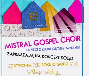 Koncert kolęd w stylu Gospel