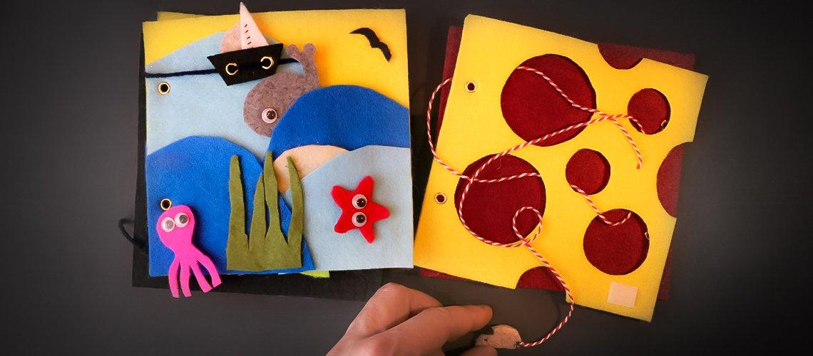 Robimy książeczkę sensoryczną – warsztat dla rodziców