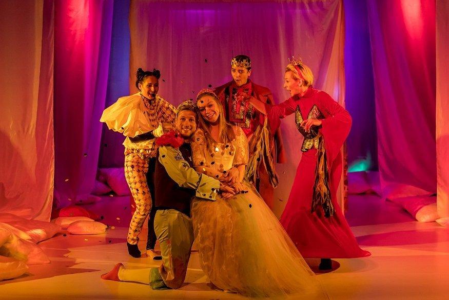 Księżniczka na ziarnku grochu - spektakl