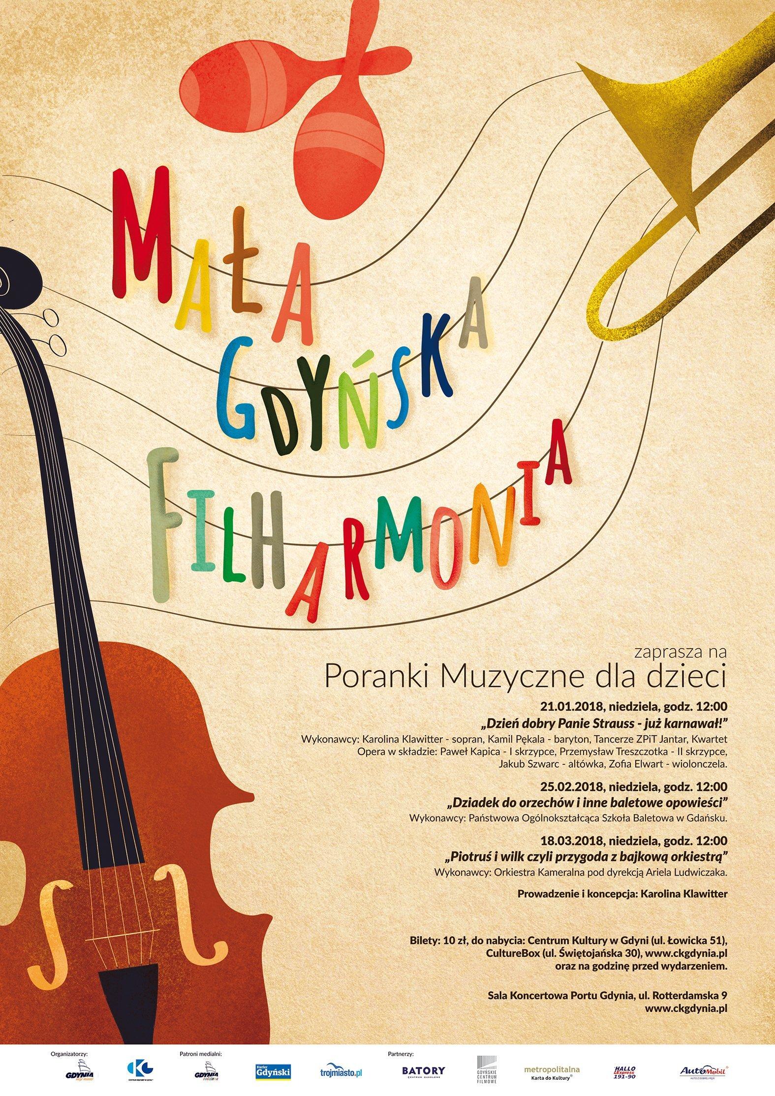 Mała Gdyńska Filharmonia: Dzień dobry Panie Strauss – już karnawał