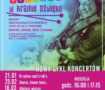 Maluchy w krainie dźwięku - koncerty w Rudzie Śląskiej