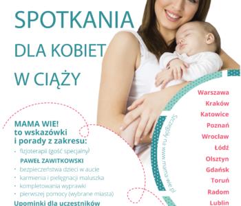 Warsztaty MAMA WIE! Wiosenna edycja spotkań dla kobiet w ciąży