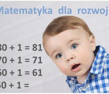 Matematyka dla rozwoju dzieci 0-6 lat