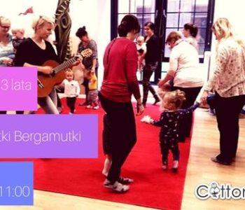 Baby Nutki Bergamutki – zajęcia muzyczne dla dzieci 6 msc-3 lata