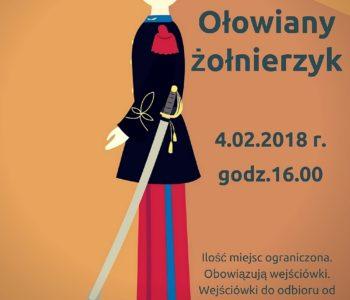 Przedstawienie dla dzieci Ołowiany żołnierzyk