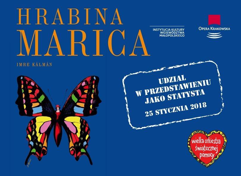 Opera Krakowska dla WOŚP - zagraj w operetce Hrabina Marica