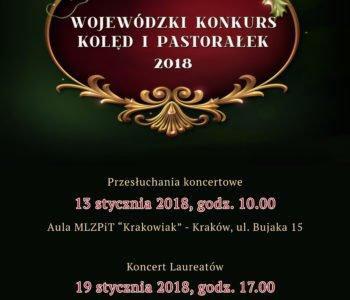 Plakat - konkurs kolęd