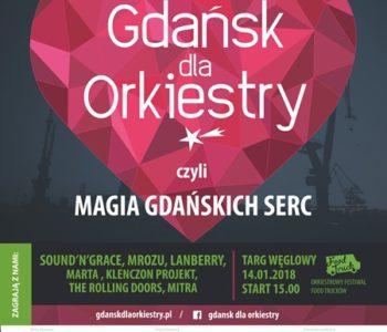Magia gdańskich serc czyli Gdańsk gra dla orkiestry