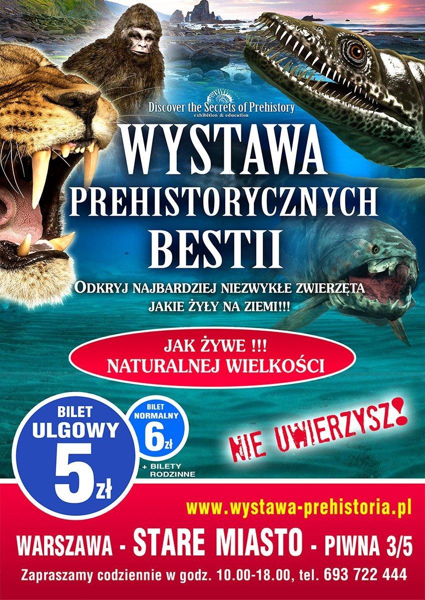 Wystawa Prehistorycznych Bestii