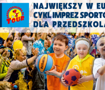 Największy w Europie cykl imprez sportowych dla przedszkolaków