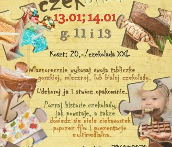Styczniowe warsztaty czekoladowe dla dzieci w Stopklatce