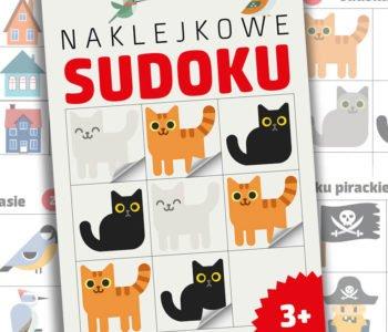 Sudoku i krzyżówki dla dzieci książka