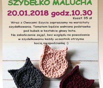 Szydełko malucha w Piaskownicy Kulturalnej, Sosnowiec