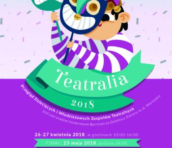 Przegląd Dziecięcych i Młodzieżowych Zespołów Teatralnych Teatralia 2018