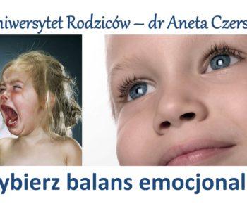 Uniwersytet Rodziców® – Balans emocjonalny