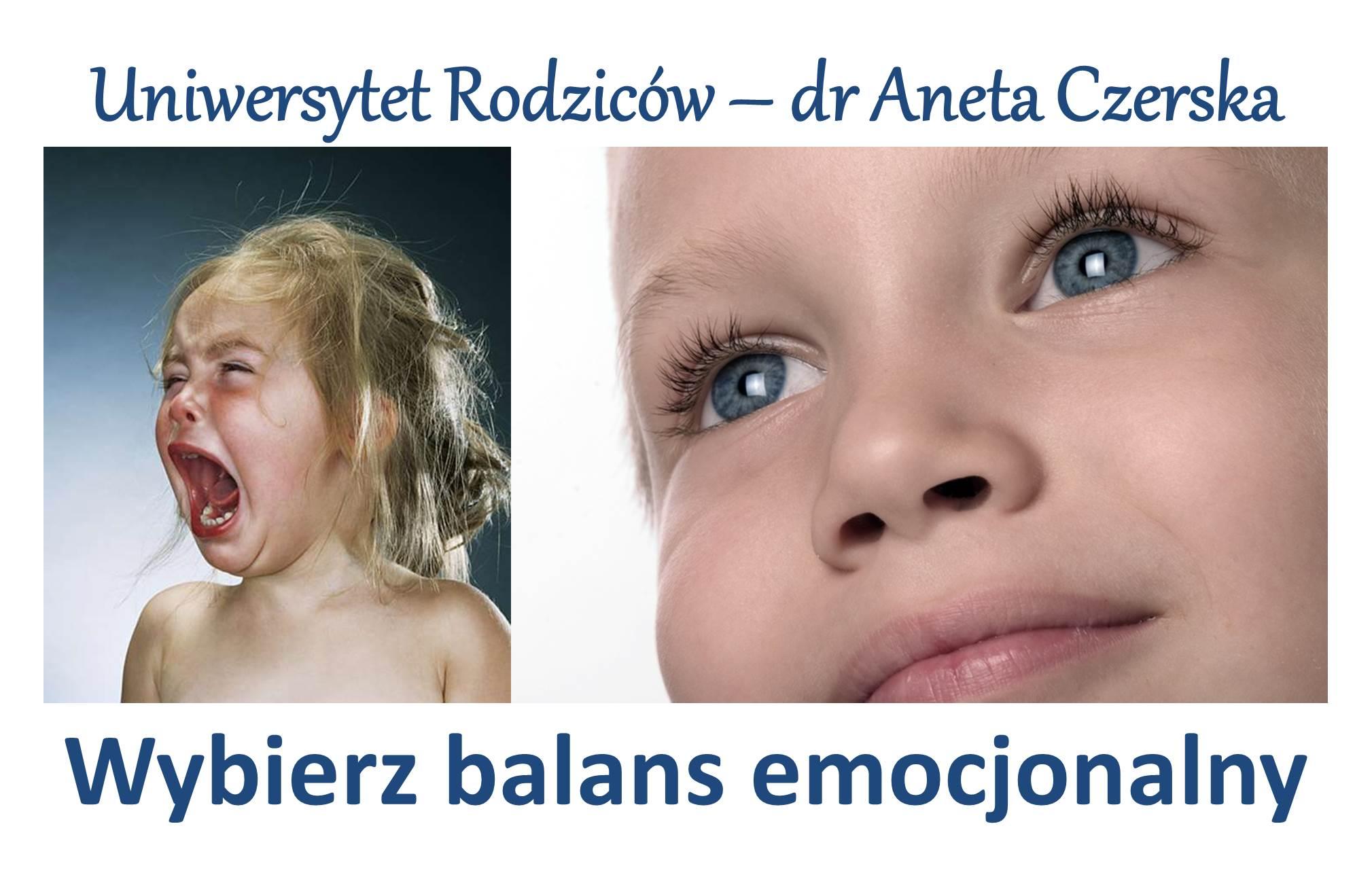 Balans emocjonalny w Uniwersytecie Rodziców