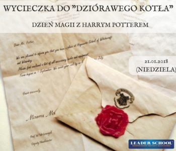 Dzień Magii z Harrym Potterem – wycieczka do Dziórawego Kotła