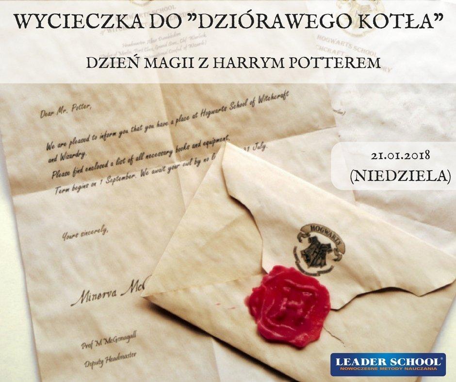Dzień Magii z Harrym Potterem - wycieczka do Dziórawego Kotła