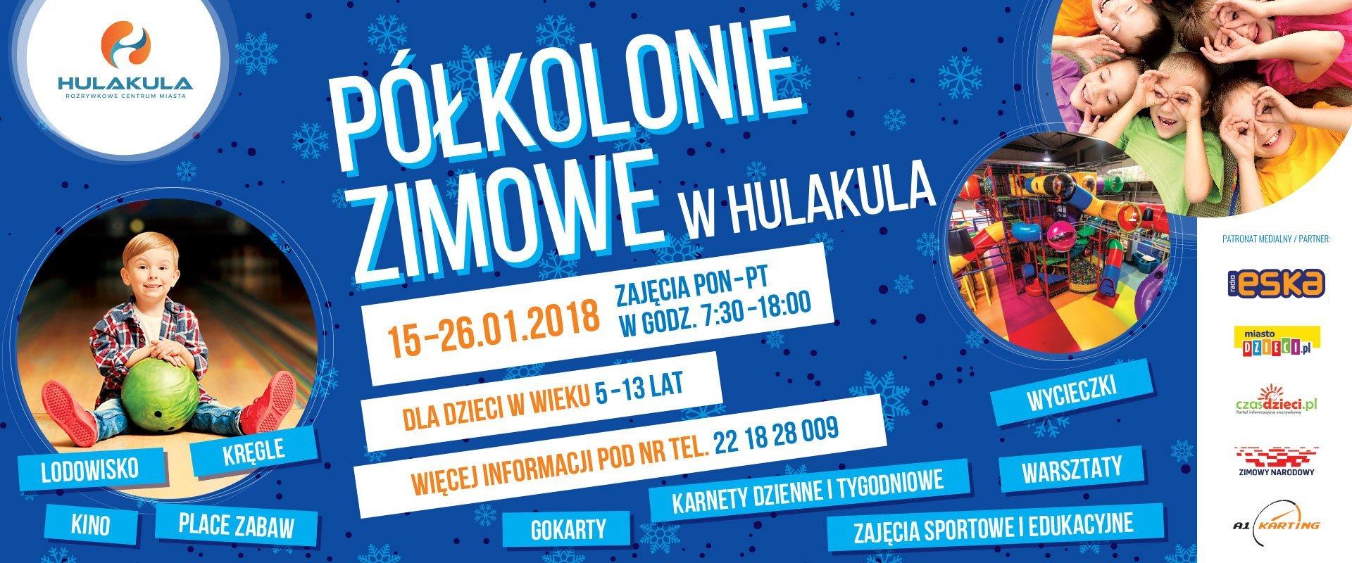 Zima w mieście 2018 Warszawa Hulakula