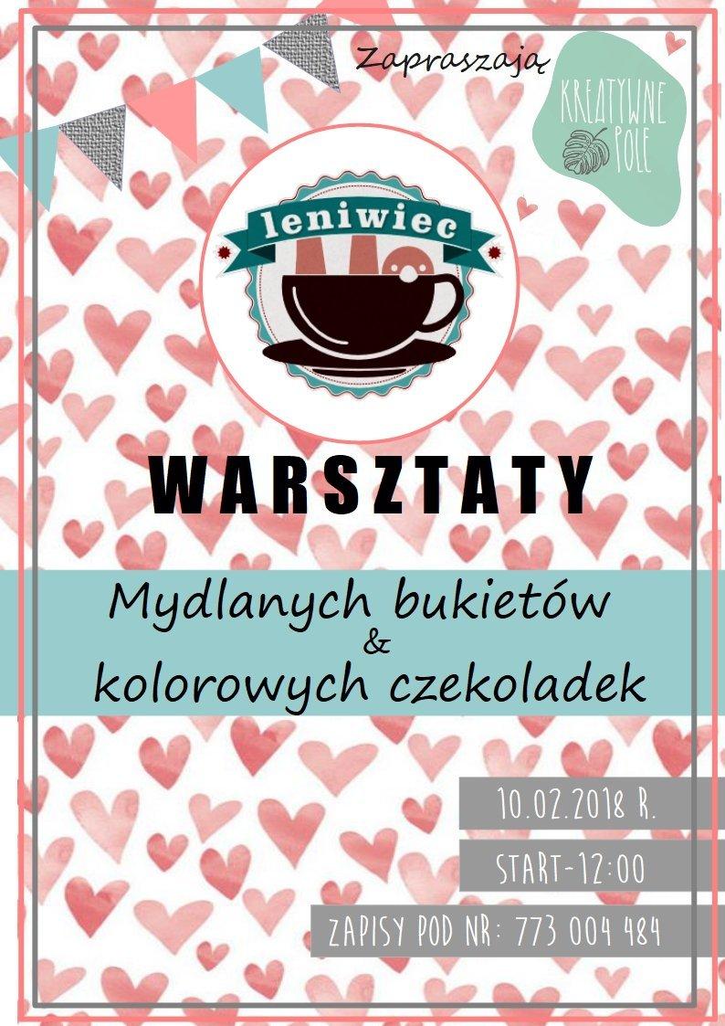Warsztaty walentynkowe w Cafe Leniwiec