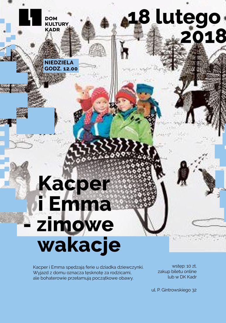 Kacper i Emma – zimowe wakacje - projekcja