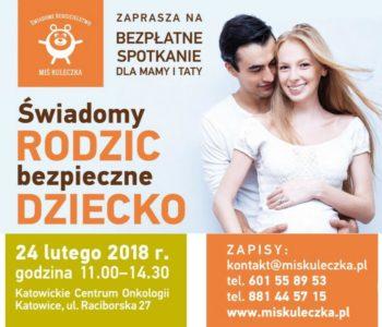 Świadomy rodzic – bezpieczne dziecko. Bezpłatna konferencja w Katowicach