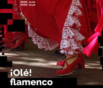 Ole! Flamenco - warsztaty tańca dla dzieci w DK Kadr