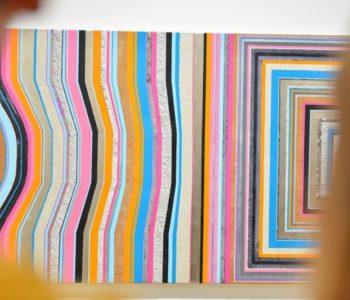 Obrazy-zebry. Warsztaty rodzinne towarzyszące wystawie Anny Ostoi