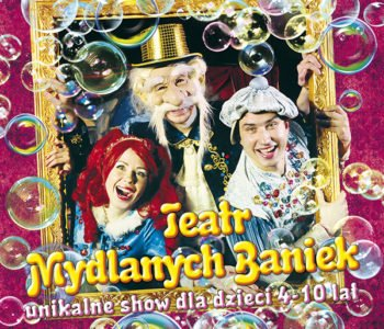Teatr Baniek Mydlanych – Dziwactwa Mistrza Bulbulasa. Wygraj zaproszenie!