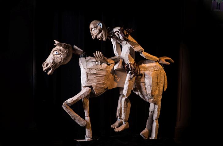 Don Kichot w Teatrze Lalka