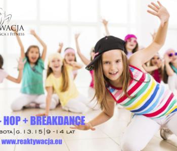 Nowe kursy tańca i akrobatyki dla dzieci w Łodzi