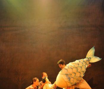 Koreański spektakl Historia Dallae w Teatrze Lalka