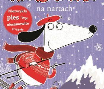 Kostek na nartach  – książkowa seria o psie