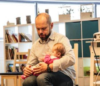 Muzealne zmysły: kręgosłup. Zajęcia rozwojowe dla niemowląt