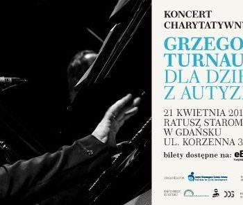 Trwa sprzedaż biletów na koncert Turnaua na rzecz dzieci z autyzmem