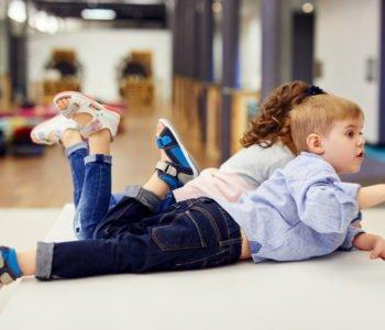 Bezpłatne badania stóp dla dzieci