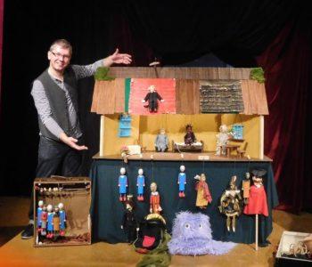 Spektakle dla dzieci Teatru Szczęście w lutym