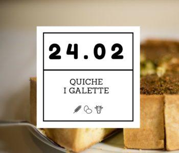 Warsztaty kulinarne dla nastolatków. Quiche i galette