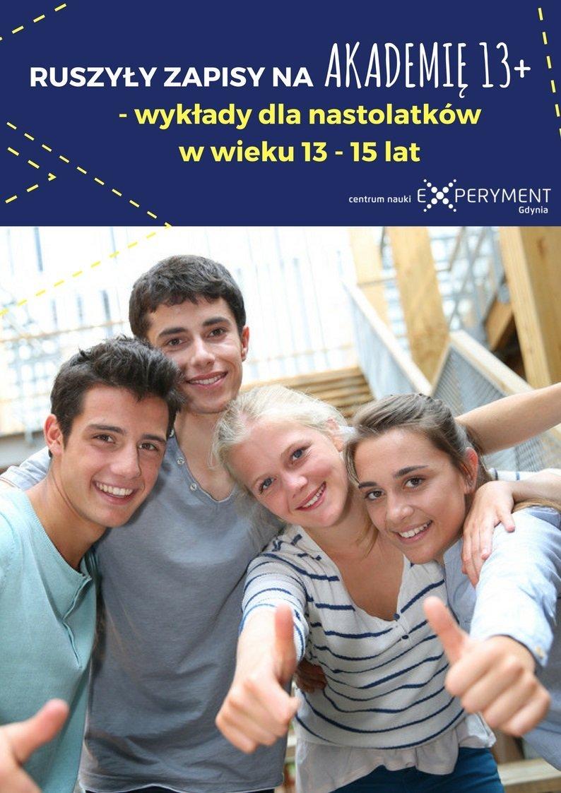 Akademia Experymentu 13+ dla młodzieży